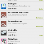 Captura play store